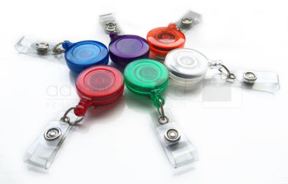 Translucent ID Card Badge Reel