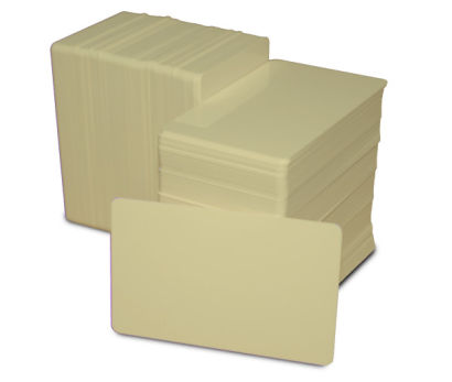 Tan Blank Plastic PVC CR80 Card