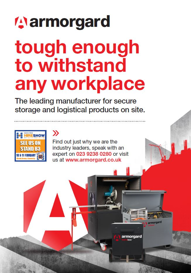 Armorgard - Tough enough to withstand any workplace