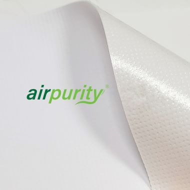 Airpurity Anti-microbial Repositionable Self-Adhesive Inkjet Textile 420mic