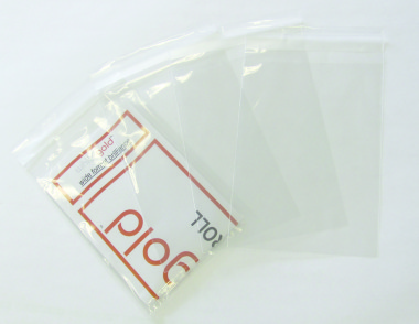 PP Card Bags Crystal Clear Peel/Seal