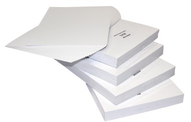 A-Line Binding Covers White Card