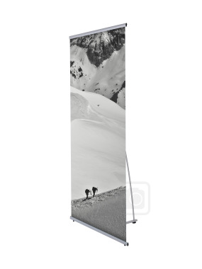 Chamonix Aqueous Roll-up Banner Greyback 180 Micron