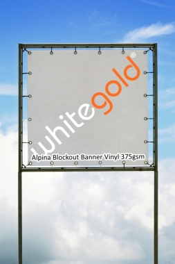 Alpina Aqueous Blockout Banner Vinyl 375gsm