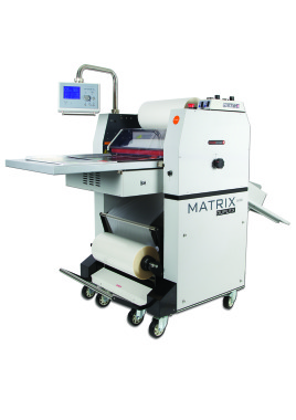 Matrix MX530DP B2 Duplex Pneumatic Roll Laminator with Foiling Option