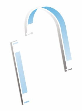 A-Line Clear Wobblers - straight