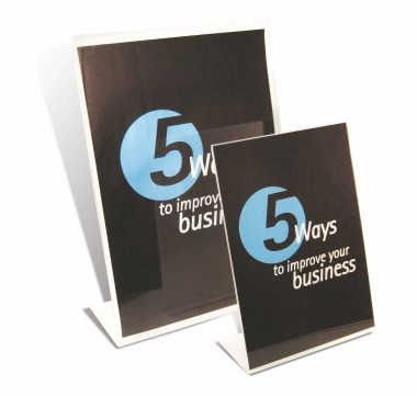 Freestanding Poster Holders