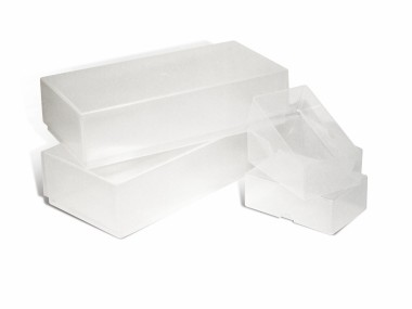 A-Line Business Card Boxes - Plastic