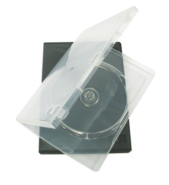 DVD Boxes - Clear
