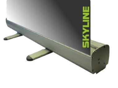Skyline Rollup Banner Stands - Snap clip top rail