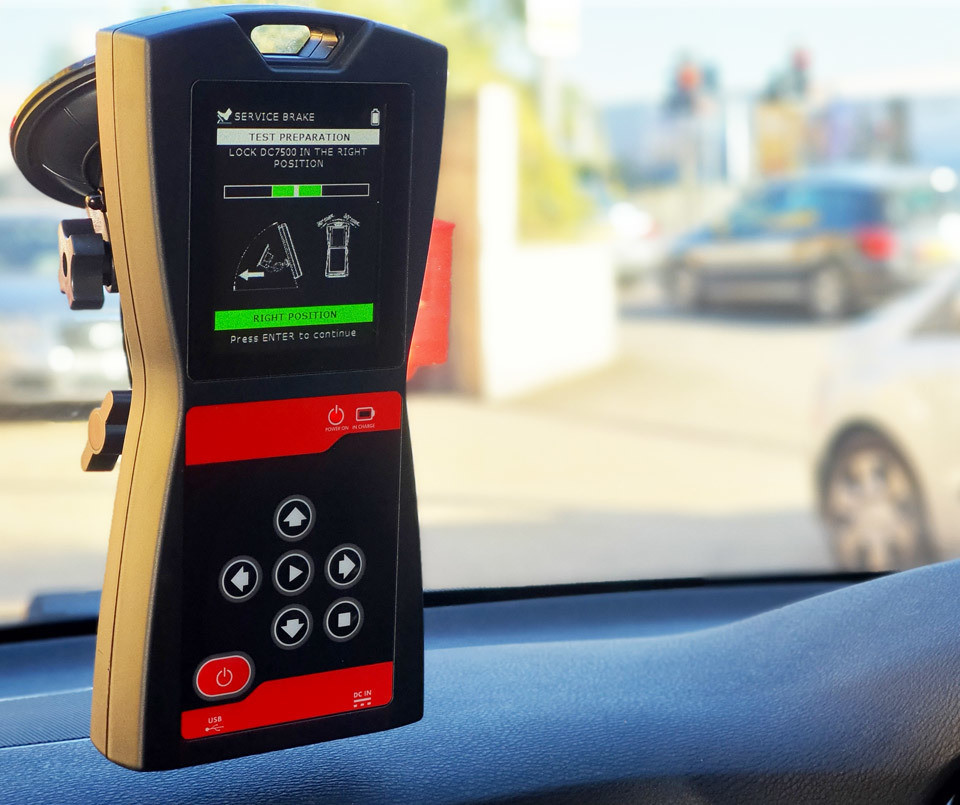 Decelerometer Connected MOT Equipment Approved