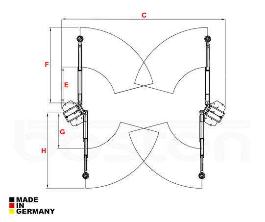 4T Mechanical Screw Two Post Lift