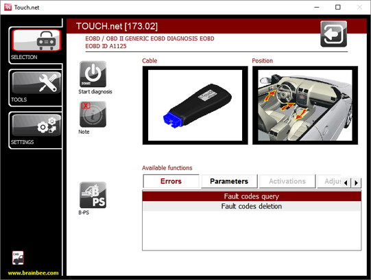 F-Touch - PC Operated Vehicle Diagnostics Tool
