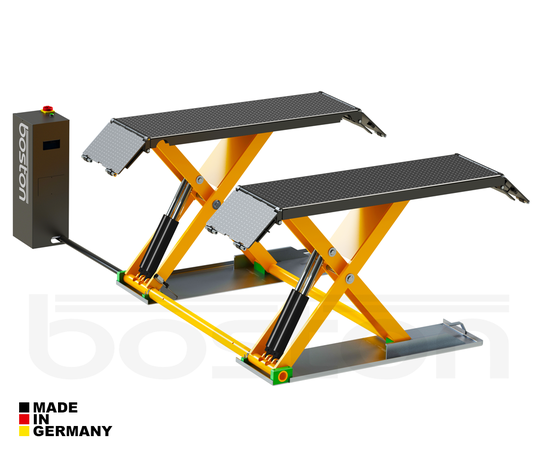 3T Static Single Scissor Service Lift - Single Phase