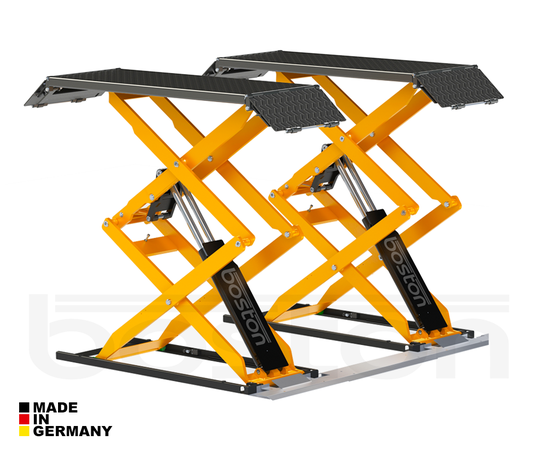 3.5T Double Scissor Service Lift