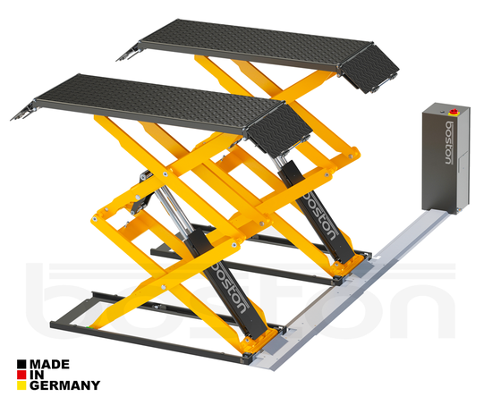 3.2T Double Scissor Service Lift