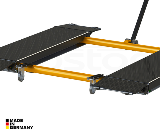 3T Mobile Single Scissor Service Lift  - Single Phase