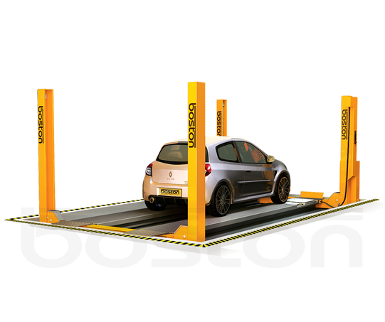 4T, 4.65m Four Post Vehicle Lift