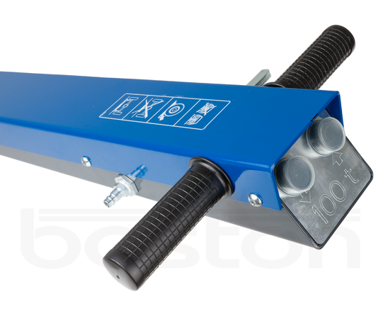 100T Heavy Duty Jack for Low Clearance Plant Machinery