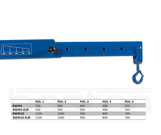 0.55T Hydraulic Workshop Crane