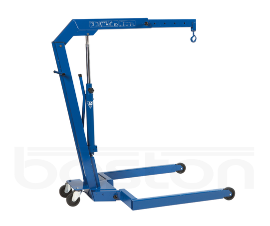 1.1T Hydraulic Workshop Pallet Crane
