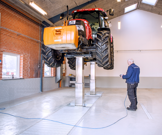 30T Twin Column, Commercial Vehicle In-Ground Lift
