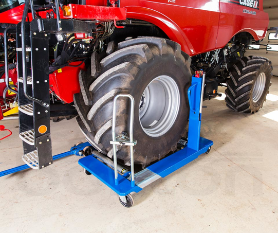1.5T Mechanical Wheel Trolley for Tractors and Agricultural Machinery