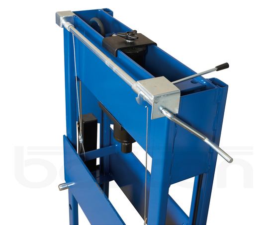 Winch System for Junior Hydraulic Press Tables