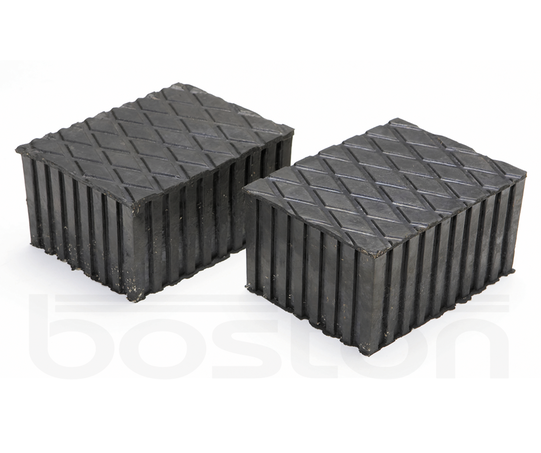 80mm Rubber Lifting Blocks