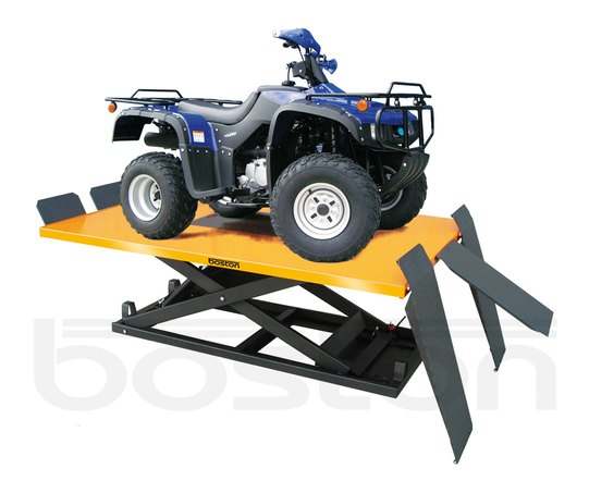 Quad Bike / Lawn Mower Scissor Lift - 600kg - Single Phase