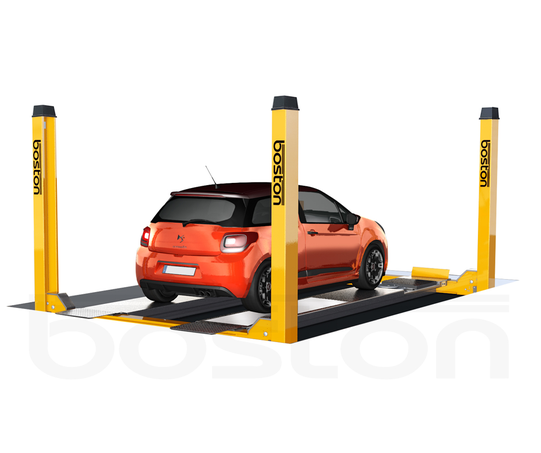 4T, 5m Four Post Wheel Alignment Vehicle Lift