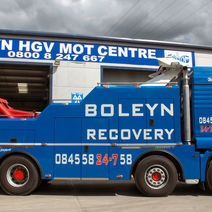 Jim Parker, Operations Manager, Boleyn Recovery and Fleet Services