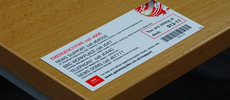 Printed Aluminium Asset Labels