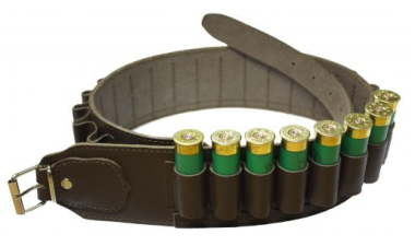 Brown Leather Cartridge Belt