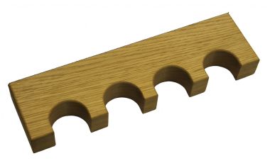 Solid Oak Magnetic Gun Rest