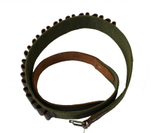 Canvas and Leather Cartridge Belt .410g