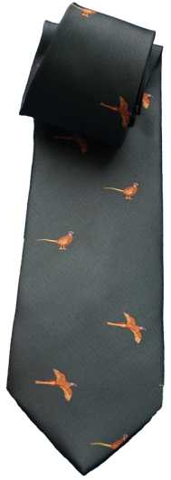 Children's Standing & Flying Pheasant Tie