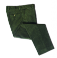 Hoggs of Fife Monarch Moleskin Trousers-Olive