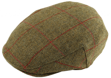 Alan Paine Combrook Tweed Cap