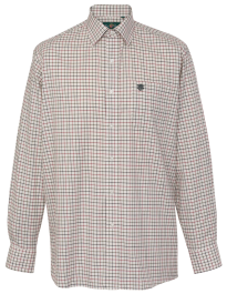 Alan Paine Ilkley Gents Shirt (Red)