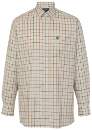 Alan Paine Ilkley Gents Shirt (Olive)