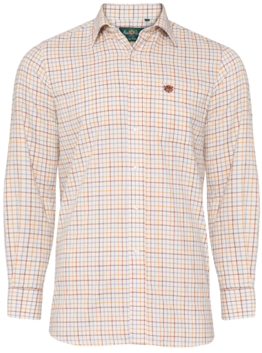Alan Paine Ilkley Gents Shirt (Brown)