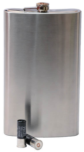 64oz Stainless Steel Giant Hip Flask