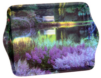 Mini Tray - Garden Lake