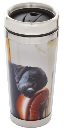 Sleeping Lab - Thermal Travel Mug