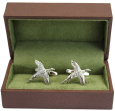 Flying Pheasant Cufflinks