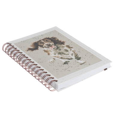 Skye Spaniel Spiral Bound Notebook by Wrendale Designs