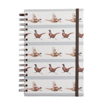 Flying Pheasant A5 notebook by Wrendale Designs