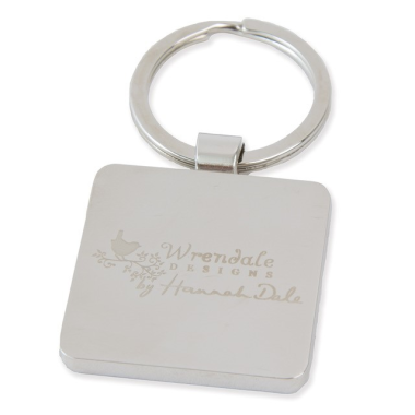 """A Waddle and a Quack"" Duck Keyring by Wrendale Designs"