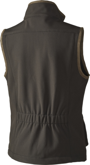 Seeland Kids Winster Softshell Waistcoat Black Coffee